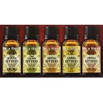 Berg & Hauck's Cocktail Bitters Sampler Set - Pack of 5 5 Get 5 different flavors