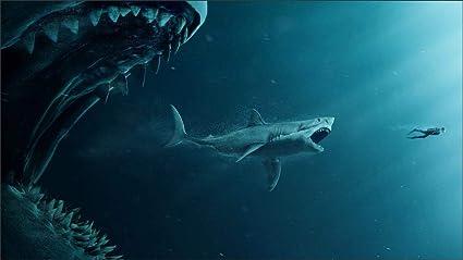 Amazon com: The Meg Starring Jason Statham Li Bingbing Rainn