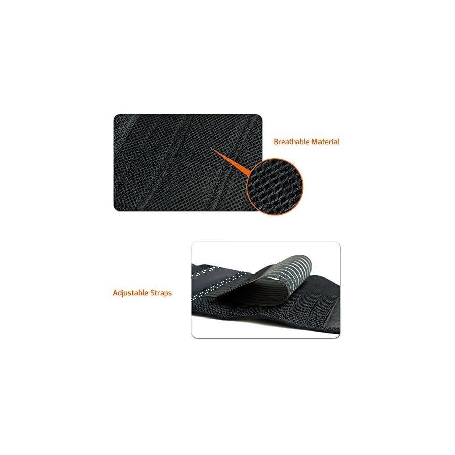 Waist Trimmer Ab Belt For Men Women 3 Adjustable Closure Waist Trainer Stomach Wrap Slimming Sauna Weight Loss Belts and lower Back Lumbar Support