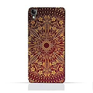 AMC Design ALCATEL Idol3 4.7 TPU Silicone Protective Case with Floral Pattern 1201