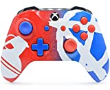 ''Bomber'' Xbox One S Rapid Fire Custom Modded Controller 40 Mods for All Major Shooter Games, Auto Aim, Quick Scope, Auto Run, Sniper Breath, Jump Shot, Active Reload & More (with 3.5 jack)