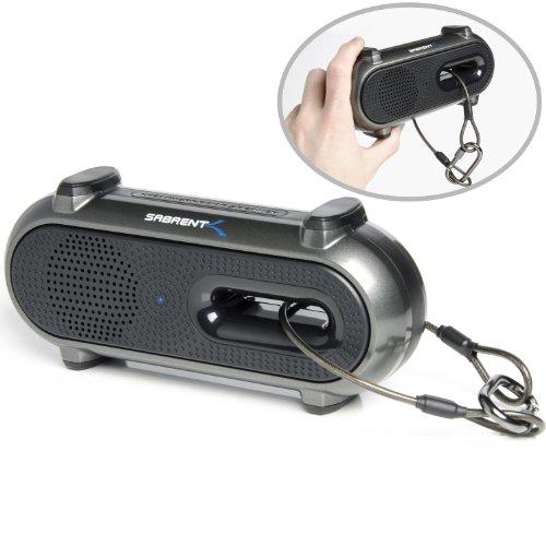 Sabrent Ultra-Portable Weatherproof Wireless Bluetooth Speaker for Outdoor/Indoor 10 Hours Rechargeable Battery (SP-BYTA)