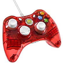 PDP Rock Candy Wired Controller for Xbox 360 - Stormin' Cherry