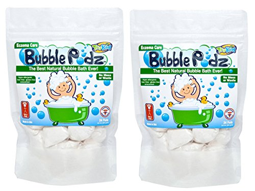 TruKid eczéma soins Bubble Podz - 2 Pack (Anciennement connu sous Blasts bain)