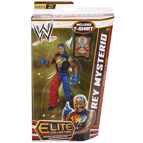 (WWE Elite Collection Rey Mysterio Action Figure)