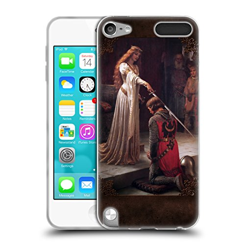 Official Brigid Ashwood The Accolade Pre-Raphaelite Soft Gel Case for Apple iPod Touch 5G 5th Gen - Ipod Touch 5th Gen Acc
