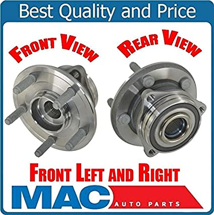 Amazon com: Mac Auto Parts For 11-16 Grand Cherokee Durango (2) Frt
