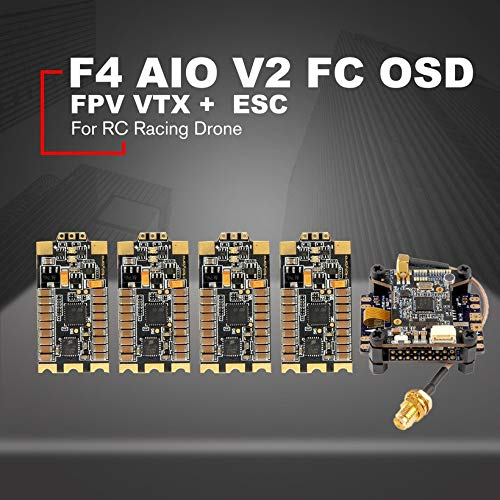 Wikiwand Holybro Kakute F4 AIO V2 Atlatl HV V2 Raceband FPV VTX Tekko32 35A ESC 4