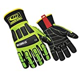 Ringers Gloves R-297 Roughneck KevLoc Heavy Duty Work Gloves, Impact Gloves, XX-Large