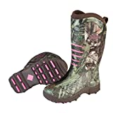 Muck Boot Womens Pursuit Stealth Hunting Shoes, Realtree/Pink, 6 M US