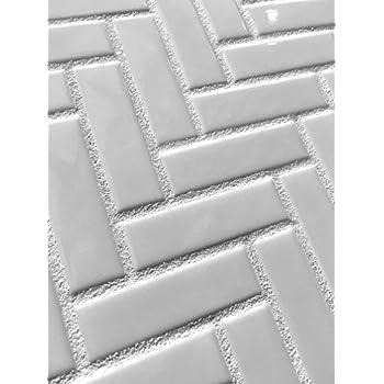 Amazon Com 1x3 High Gloss Polished Finish White
