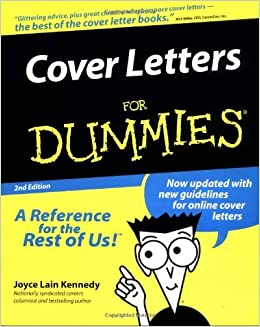 Book Cover Letters For Dummies 2nd EDITION