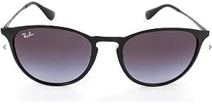 Amazon.com: Ray-Ban Erika Metal Non-Polarized Sunglasses ...