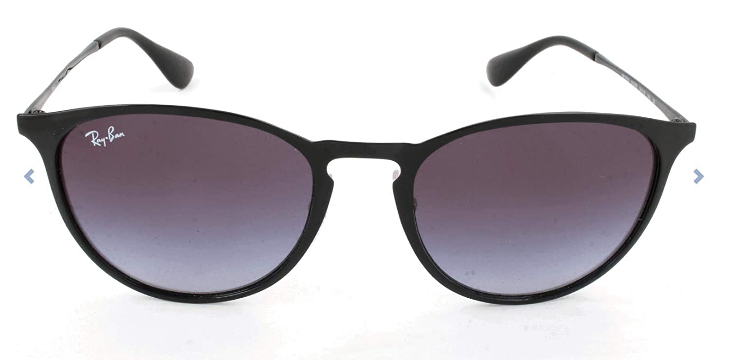Amazon.com: Ray-Ban RB3539 Erika Round Metal Sunglasses ...