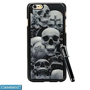 Caseland Iphone 6 4.7 Inch Back Case Hard PC 3D Series Scary Skull Seems So Real Case For Iphone 6 4.7 Inch
