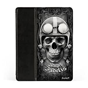 Semper Fidelis Premium Faux PU Leather Case, Protective Hard Cover Flip Case for Apple? iPad 2 / 3 and iPad 4 by Gangtoyz + FREE Crystal Clear Screen Protector