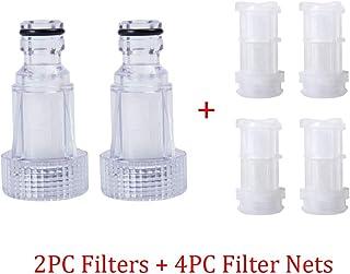 Homeve 2pcs/set Car Washing Machine Water Filter Connection For Karcher K2 K3 K4 K5 K6 K7 Series High Pressure Washers