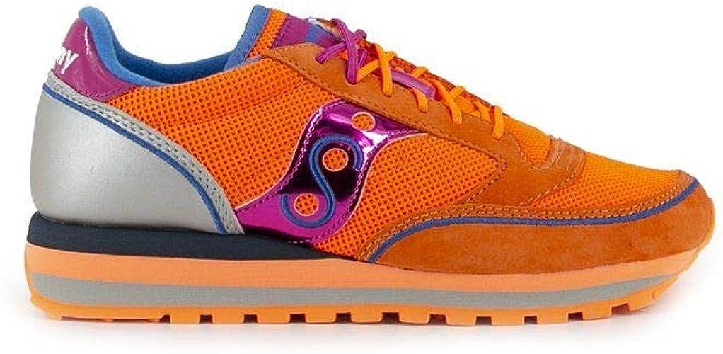 Saucony Moda Mujer 6049705 Naranja Poliamida Zapatillas | Primavera Verano 20, color Naranja, talla 41 EU: SAUCONY: Amazon.es: Zapatos y complementos