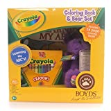 Boyds Bears: Crayola Purple Plush Gift Set