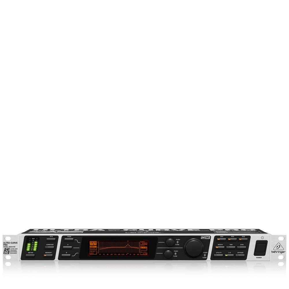 Behringer Ultracurve Pro DEQ2496 Ultra-High Precision 24-Bit/96 kHz Equalizer, Analyzer, Feedback Destroyer and Mastering Processor (Certified Refurbished) by Behringer (Image #2)