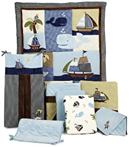 NoJo Ahoy Mate 8 Piece Bedding Set (Discontinued by Manufacturer)