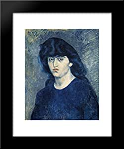 Amazon.com: Portrait of Suzanne Bloch 20x24 Framed Art ...