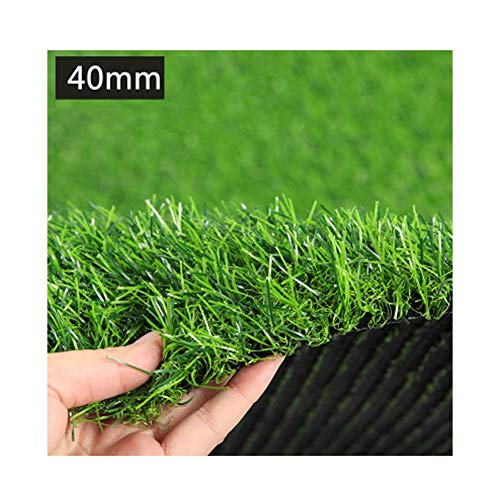ALGWXQ Artificial Turf Easy Care Formaldehyde Free The Mall School Football Field Fake Grass, 7 Kinds Of Green…
