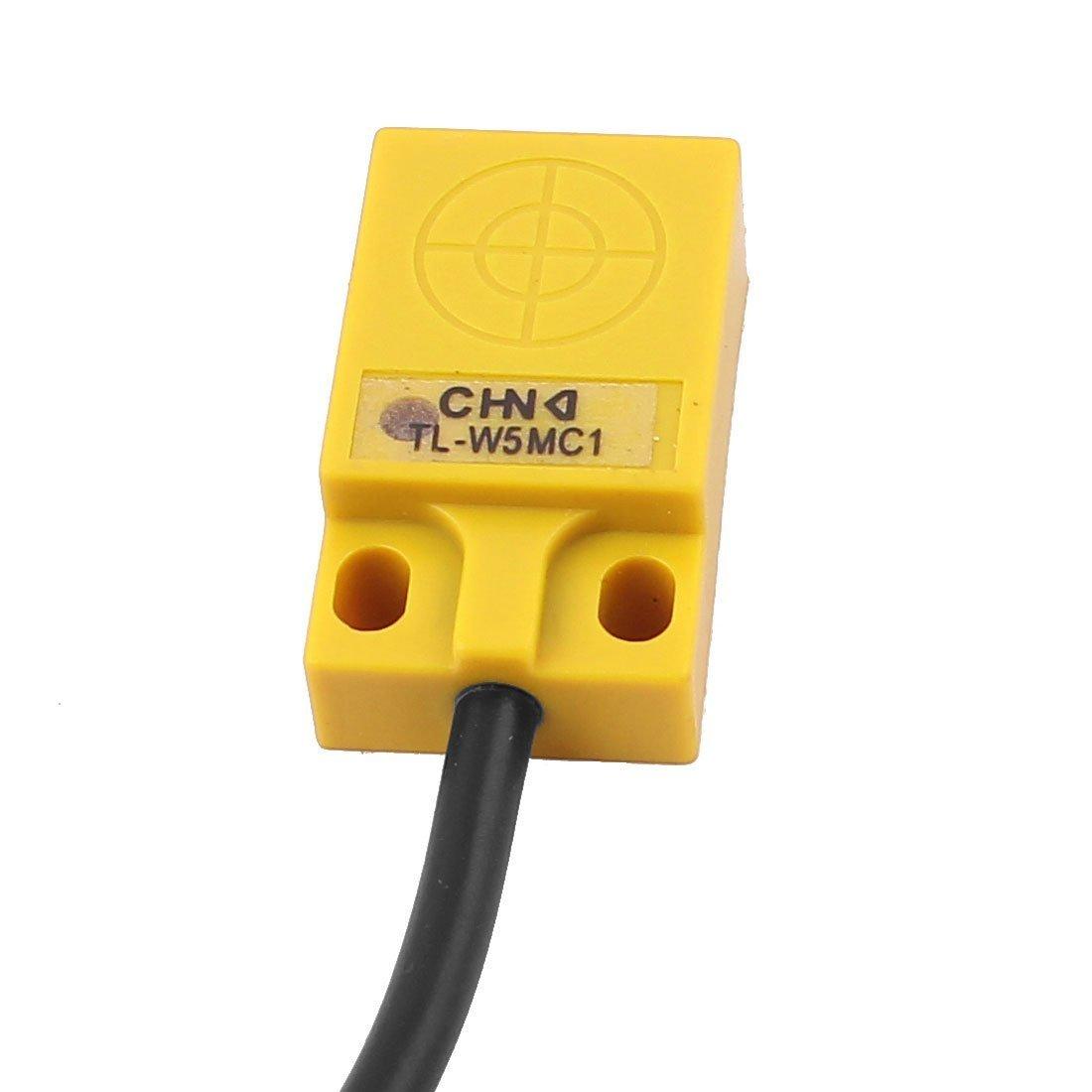 TL-W5MC1 NPN NO 5mm Inductive Proximity Sensor Switch DC 3 Wire 5-36V