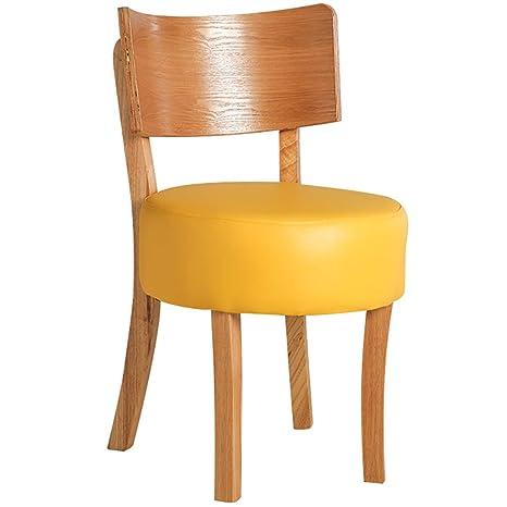 Amazon.com: RXBFD Silla de comedor de madera maciza, silla ...