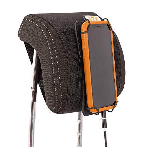 ATK ESSENTIAL PRODUCTS Drive Buddy TM Universal Car Headrest Mount Tablet & Smartphone Holder- iPad Mini, iPhone, Samsung Galaxy, Nexus and ()