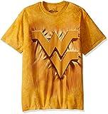 The Mountain Men's West Virginia U Wv Inner Spirit Yellow Adult T-Shirt, Gold, 3XL
