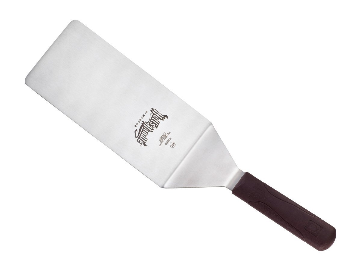 Mercer Culinary Hell's Handle Heavy Duty Turner/Spatula, 8 Inch x 4 Inch