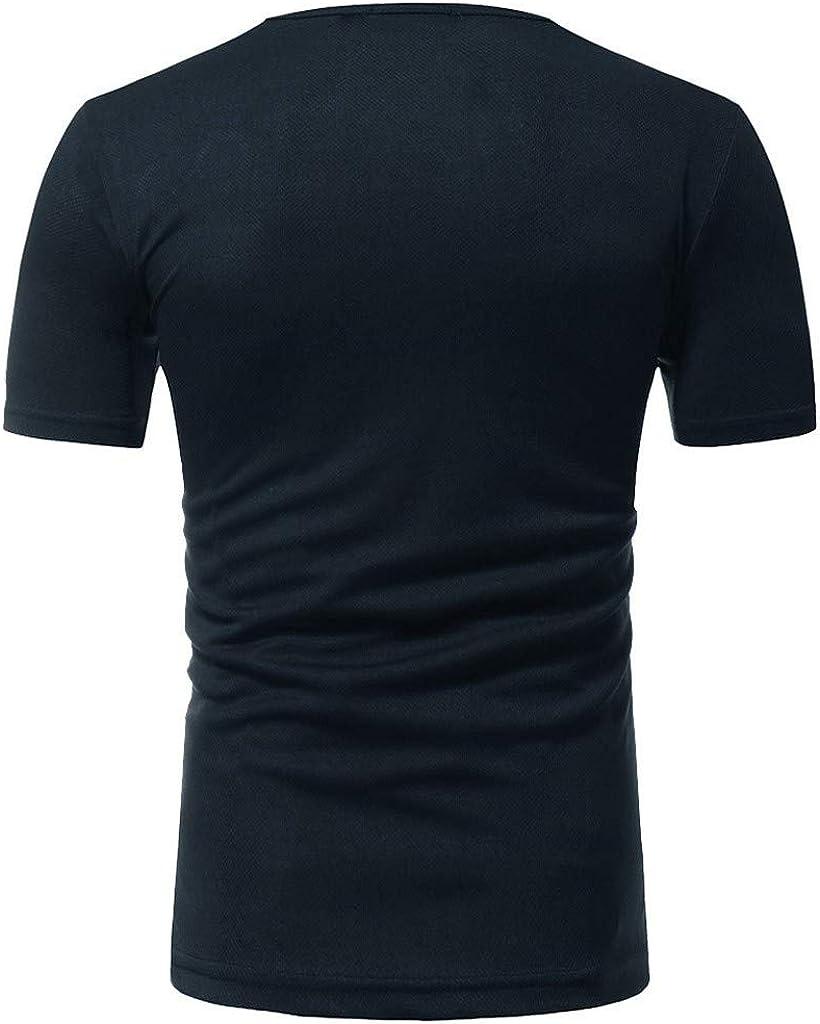 waotier Camisetas De Manga Corta para Hombre Camiseta De Manga Corta Estampada con Estilo De Primavera Y Verano: Amazon.es: Ropa y accesorios