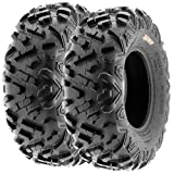 Set of 2 SunF Power.II 26x9-12 ATV UTV Off-Road Tires, All-Terrain, 6 PR, Tubeless A051