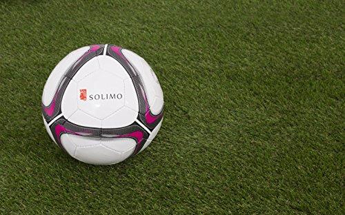 Amazon Brand – Solimo Hand-Stitched PVC Football, Size 5
