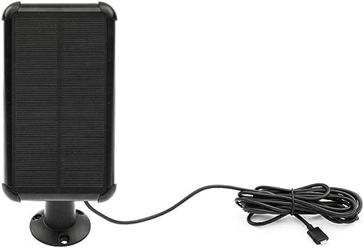 Ezviz Solarpanel Für Batteriekamera C3a Draussen Kabellos Ip Kamera Aufladen Wetterfest Einstellbare Halterung Baumarkt