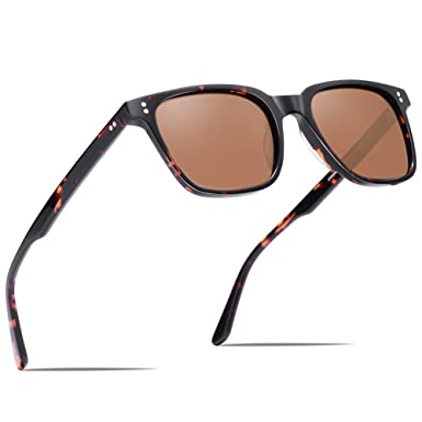 6e680a7c158 Carfia Polarized Sunglasses for Women Men Vintage Designer Sunglass for  Driving Holiday Traveling