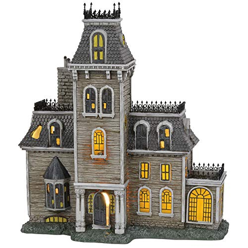 Dept 56 Halloween Clearance (Department56 Addams Family Village House Lit Building, 10.87
