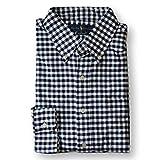 Ralph Lauren Mens Classic Fit Oxford Button-down Shirt (M, Black/White)