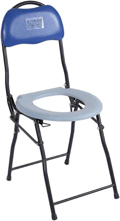 Elderly supplies Bedside Commodes, Bedroom Toilet Chair, Toilet Seats & Commodes, Toilet Shower Toilet Chair, Folding Portable Commode, Toilet seat and Frame for The Disabled 51LpHY6mnmLSL1000_