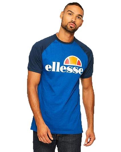 f2c907d2 ellesse Cassina Mens Mazerine Blue T Shirt XL: Amazon.co.uk: Clothing