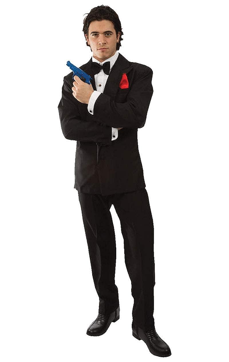 007 James Bond Costume Amazon Co Uk Clothing