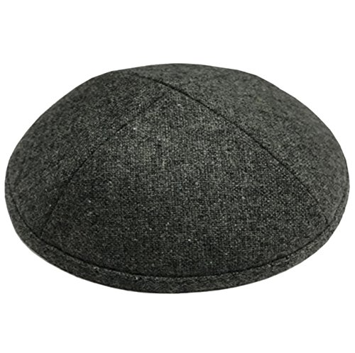 Kippah Source Wool handmade Kippot for Any Event or Everyday - Free Custom Inside Imprint Single or Bulk for bar mitzvah, wedding or Any by Kippah Source