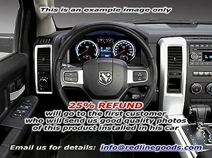 RedlineGoods Dodge Ram 2009-15 cubierta del volante de