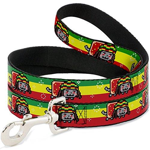 nyan-cat-youtube-video-meme-rastafarian-stripes-fun-animal-pet-dog-cat-leash
