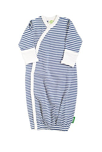 Price comparison product image Parade Organics Organic Baby Printed Kimono Gowns