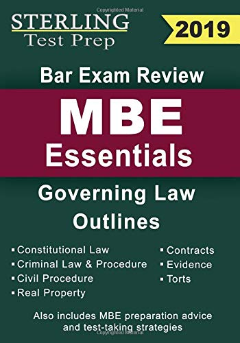 Pdf Law Sterling Test Prep Bar Exam Review MBE Essentials: Governing Law Outlines