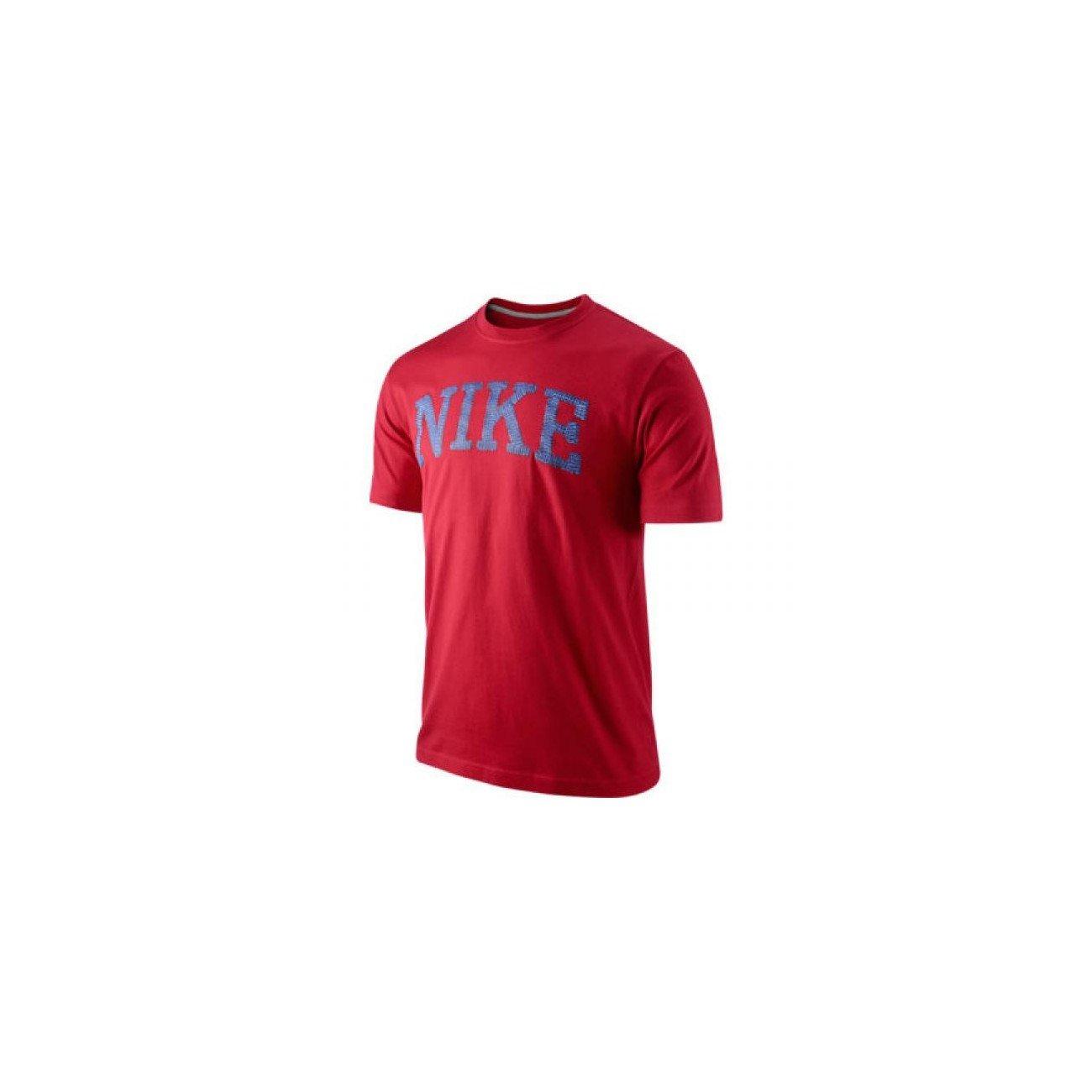 Nike Camiseta roja de Manga Corta - 06 - L, Rojo: Amazon.es: Ropa ...