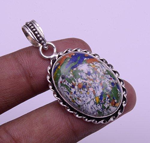 Nimbark Desginer Jewelry Lovely Gifted Mosaic Jasper Handmade Jewelry Pendant 2''