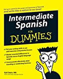 img - for Intermediate Spanish For Dummies book / textbook / text book